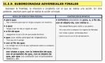 adverbiales finales